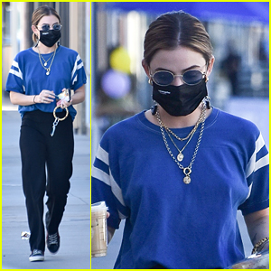 Lucy Hale Runs Errands Around Town After Being Spotted With Skeet Ulrich