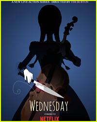 Tim Burton Is Bringing Wednesday Addams To Netflix For Standalone Series!