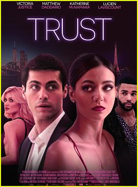 Victoria Justice, Matthew Daddario & Katherine McNamara Star In 'Trust' Trailer