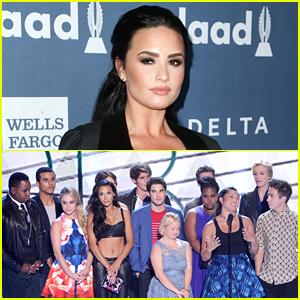Demi Lovato & The 'Glee' Cast To Reunite To Honor Naya Rivera at GLAAD Awards