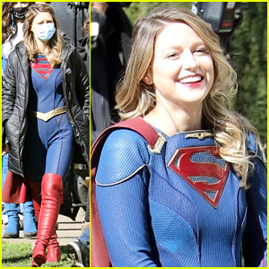 Melissa Benoist Spotted On 'Supergirl' Set The Day Before Final Season Premieres