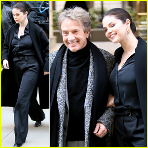 Selena Gomez Gets To Work With Martin Short on 'Only Murders In The Building' In NYC