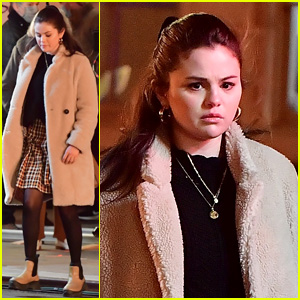 Selena Gomez Looks Really Worried On 'Only Murders In The Building' Set in NYC