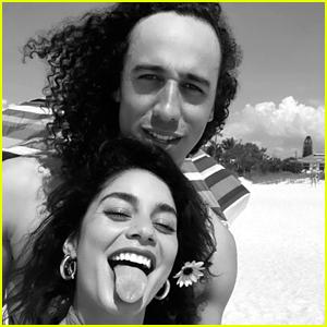 Vanessa Hudgens Shares Super Cute New Selfie With Boyfriend Cole Tucker