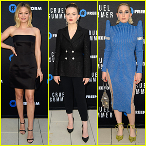 Olivia Holt, Chiara Aurelia & More Glam Up For 'Cruel Summer' Premiere Screening