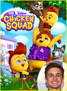 Sean Giambrone To Have Recurring Guest Role On New Series 'The Chicken Squad'