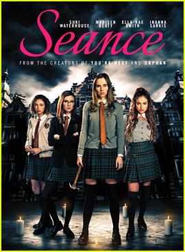 Suki Waterhouse, Inanna Sarkis & Madisen Beaty Star In 'Seance' Trailer - Watch Now!