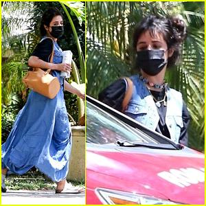 Camila Cabello Spotted Taking a Driving Lesson in Miami!