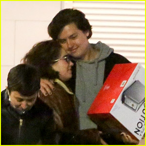 'Five Feet Apart' Co-Star Cole Sprouse & Haley Lu Richardson Grab Dinner with Friends