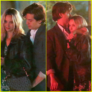 Cole Sprouse & Girlfriend Ari Fournier Pack on the PDA During Their Dinner Date!