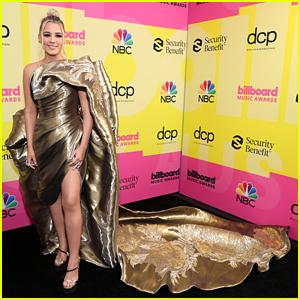 Gabby Barrett Dons Gorgeous Gold Dress at Billboard Music Awards 2021