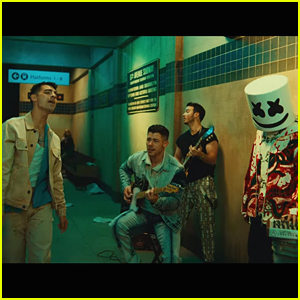 Jonas Brothers & Marshmello Release 'Leave Before You Love Me' Music Video