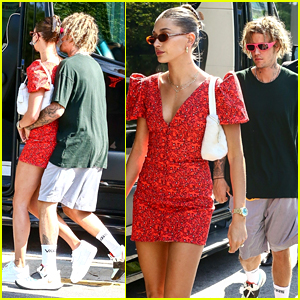 Justin Bieber Cozies Up To Wife Hailey During Shopping Trip in Miami