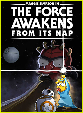 Maggie Simpson Gets the 'Star Wars' Treatment In New Disney+ Short!