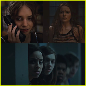 Maya Hawke, Kiana Madeira, Sadie Sink & More Star In 'Fear Street' Trilogy Teaser - Watch Now!