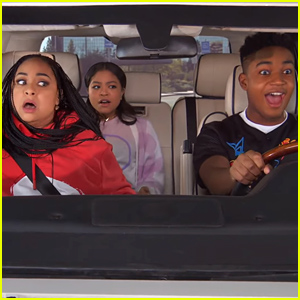 Raven Takes Nia & Booker Driving In This Exclusive 'Raven's Home' Season Finale Clip