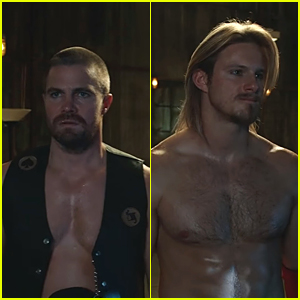 Stephen Amell & Alexander Ludwig Star In First Teaser For New Series 'Heels'