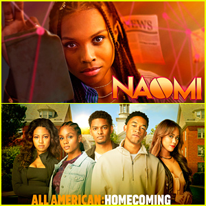 The CW Unveils First Look Photos & Video For New Shows 'Naomi' & 'All American: Homecoming'