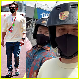 See Photos from Tom Holland & Harrison Osterfield's Trip to Monaco!
