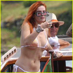 Bella Thorne Snaps Some Pics of Fiance Benjamin Mascolo on Vacation!