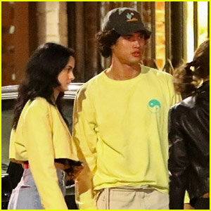 Camila Mendes Enjoys a Fun Friday Night with Charles Melton & Friends