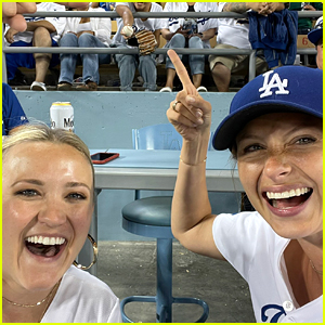 Former Disney Channel Stars Aly Michalka & Emily Osment Reunite After 15 Years!