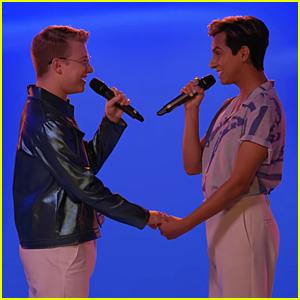 Joe Serafini & Frankie Rodriguez Sing 'A Whole New World' For Disney+ Pride Celebration (Video)