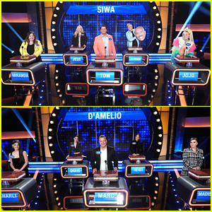 JoJo Siwa & Charli D'Amelio Face Off On 'Celebrity Family Feud' - Watch All The Clips