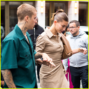 Justin Bieber Is Quite The Gentleman While Out For Dinner With Hailey Bieber