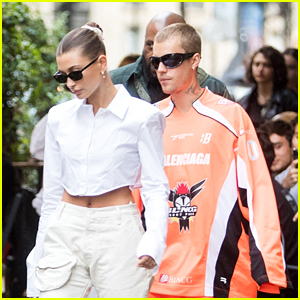 Hailey & Justin Bieber Dine Out In Style in Paris, France Over The Weekend