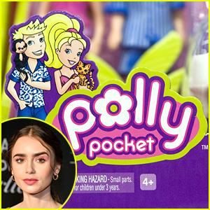 Lily Collins To Star As Polly Pocket In Upcoming New Movie!