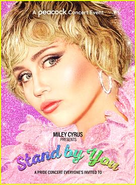 Miley Cyrus Reveals Peacock Pride Concert Special, Announces Special Guests!