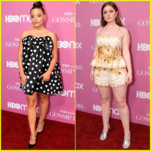 Sarah Jeffery & Emma Kenney Hit Up 'Gossip Girl' Premiere In NYC