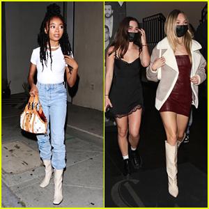 Skai Jackson & Maddie Ziegler Are Stylish Young Stars at Catch LA
