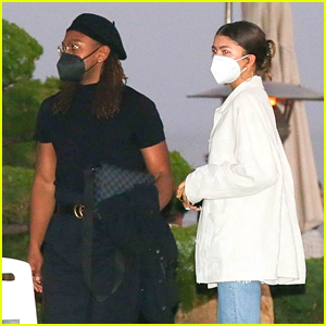 Zendaya Shows Off Chic Style During Dinner Date Out in LA