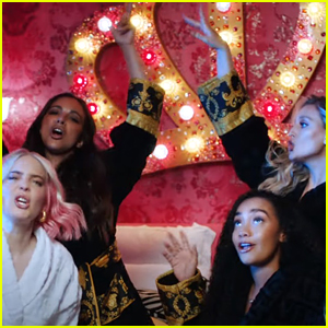 Anne-Marie & Little Mix Drop 'Bridesmaids' Inspired 'Kiss My (Uh Oh)' Music Video