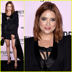 Ashley Benson Shows Off Red Hair at PrettyLittleThing x Winnie Harlow Launch