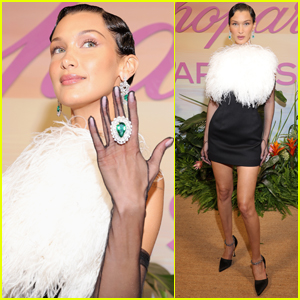 Bella Hadid Flaunts Her Diamonds at Chopard Dinner in Cannes