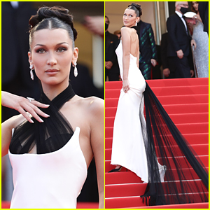 Bella Hadid Makes Quite The Entrance at Cannes Film Festival 2021