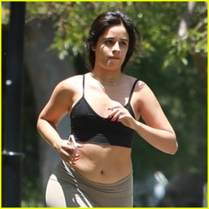 Camila Cabello Goes for a Quick Run During a Day Out in Beverly Hills