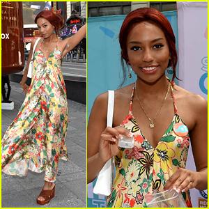 Gossip Girl Star Savannah Lee Smith Debuts Red Hair During Soapbox Giving Tour