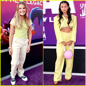 Good Luck Charlie's Mia Talerico Looks So Grown Up at 'Space Jam: A New Legacy' Premiere