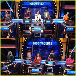 'Grown-ish' Vs. 'Good Trouble' On 'Celebrity Family Feud' - Watch All the Clips!