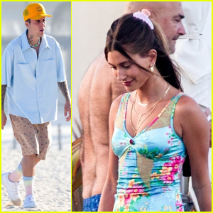 Hailey & Justin Bieber Enjoy a Night with Friends During Their Vacation in Cabo!