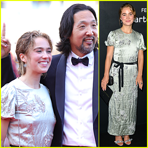 Haley Lu Richardson's 'After Yang' Director Gives Her Bunny Ears on the Red Carpet