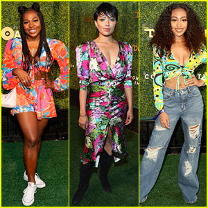 iCarly's Laci Mosley, Kat Graham & More Get Into the Disco Groove at DiscOasis