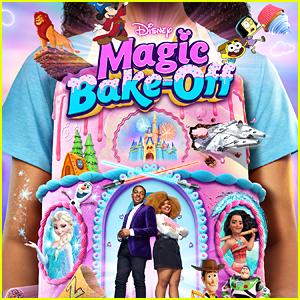 Issac Ryan Brown & Dara Renee Star On 'Disney's Magic Bake-Off' Poster (Exclusive)