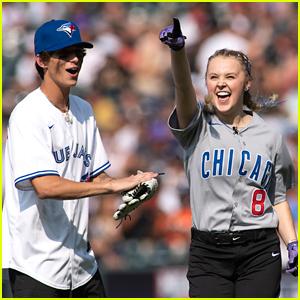 JoJo Siwa, Josh Richards & More Play In MLB All-Star Celebrity Softball Game