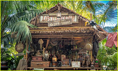 Jungle Cruise at Disneyland's new gift shop