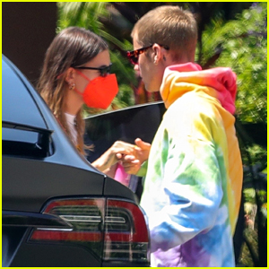Hailey Bieber Heads To Spa Appointment After Lunch Date With Husband Justin Bieber